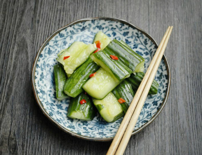 Chinese Fresh Cucumber Salad
