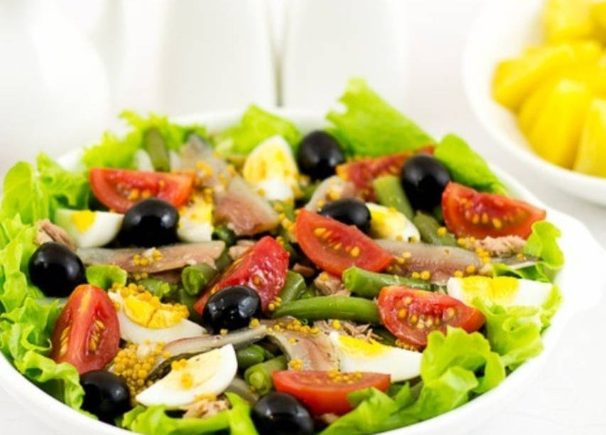 "French salad ""Nicoise"""