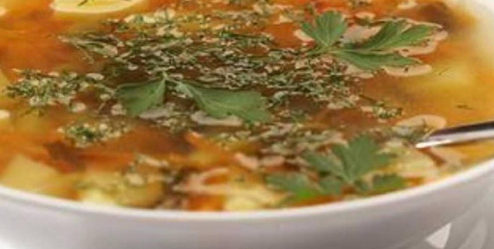 Daily cabbage soup