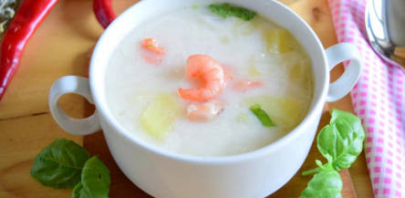 Shrimp Cheese Soup